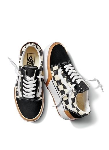 Vans Vans VN0A4U15VLV1 UA Old Skool Stacked Kadın Lifestyle Ayakkabı Renkli